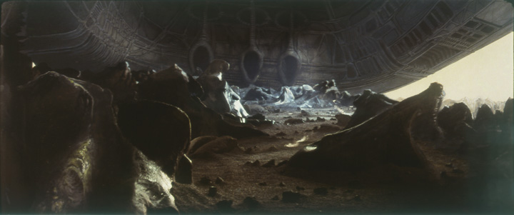 Ray Caple matte painting