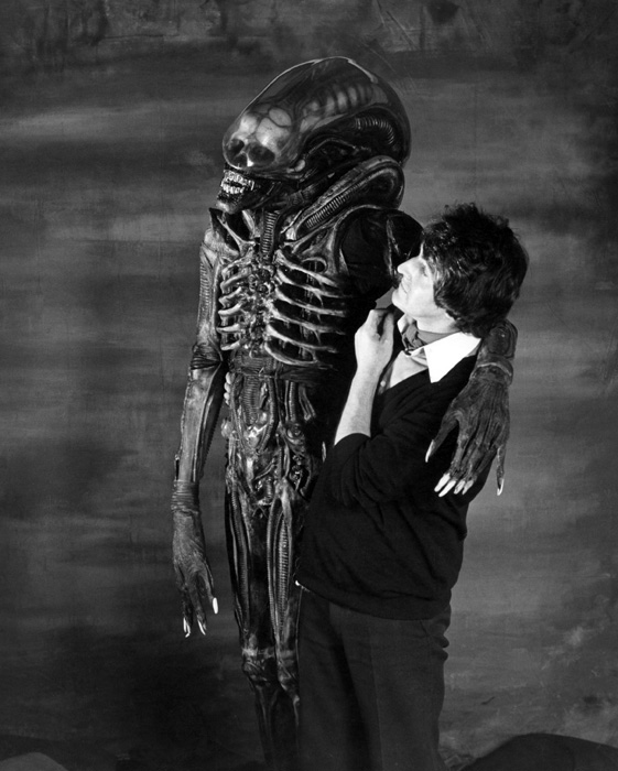 John Birkinshaw with Alien