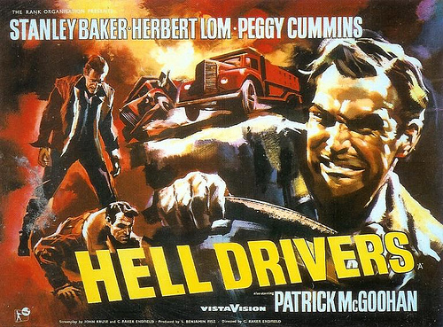 Hell Drivers film poster