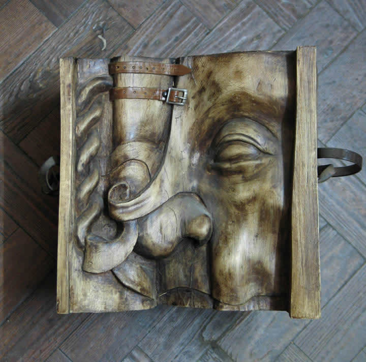 Decorative Head (Limewood)